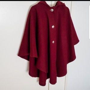Johnson Woolen Mills Vintage Wool cape